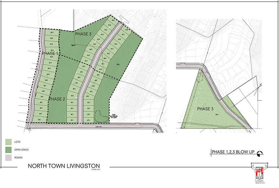 Northtown Livingston Preliminary Phase Plat SFR