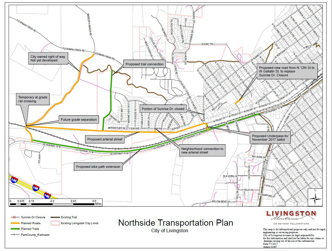 Northside Livingston Transportation Plan